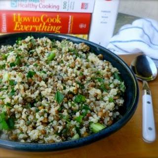 Camilla's Lemony Lentil Quinoa Salad