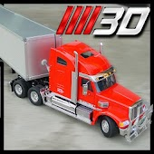 3D Highway Truck Race Game