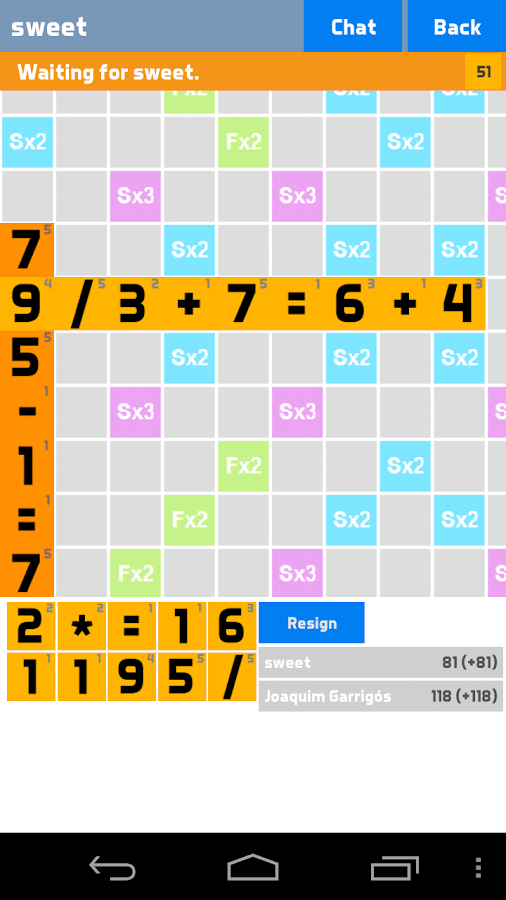 Angry Numbers - screenshot
