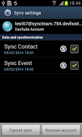 Screenshot of SyncSuite 2.0