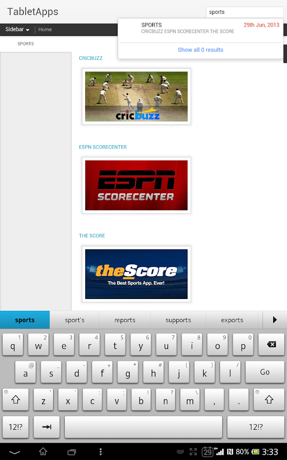 Tablet Market - Must Have Apps - screenshot