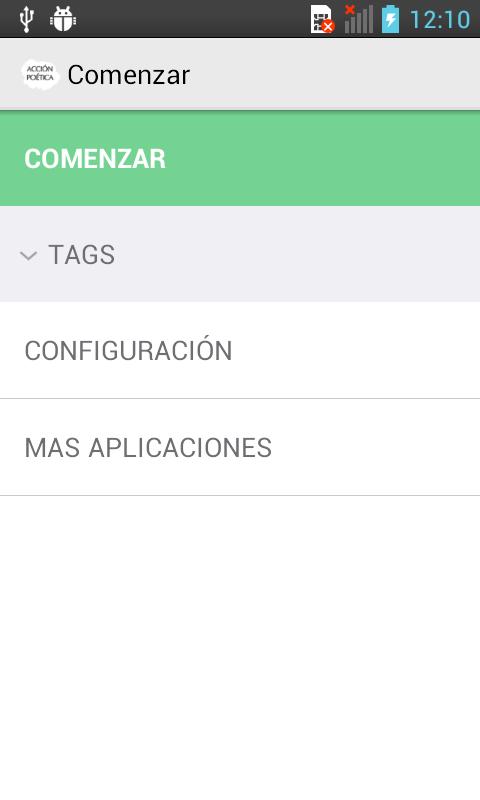 Frases de Acción Poética - screenshot