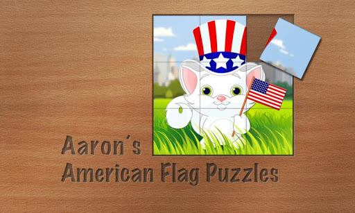 Aaron's American Flag Puzzles