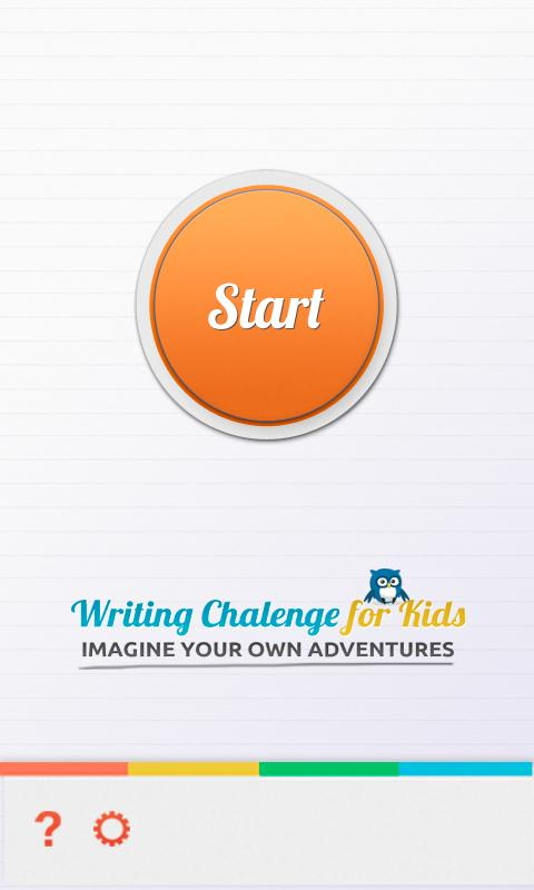 Writing Challenge for Kids- screenshot