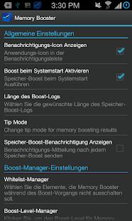 Speicher-Beschleuniger - screenshot thumbnail