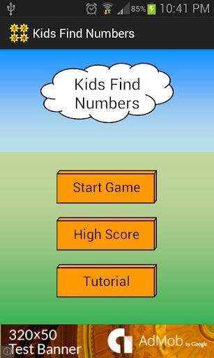 Kids Find Numbers