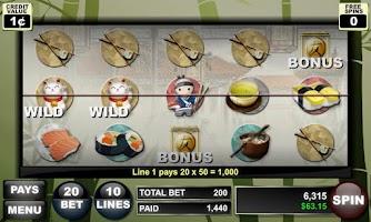 Screenshot of Sushi Dojo Slots