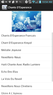 Chants D'Esperance - screenshot thumbnail