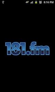 181.FM- screenshot thumbnail