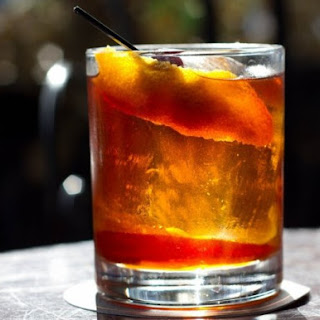 Rum Old Fashioned.