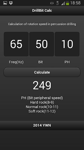 DrillBit Calc
