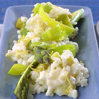Asparagus and Leek Risotto Recipe