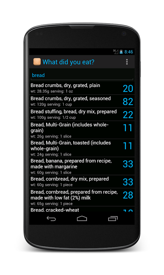 Simply Carbs- screenshot