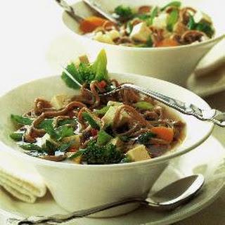 Teriyaki-style Noodles With Tofu
