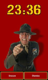 Gunny Ermey's Alarm Clock - screenshot thumbnail