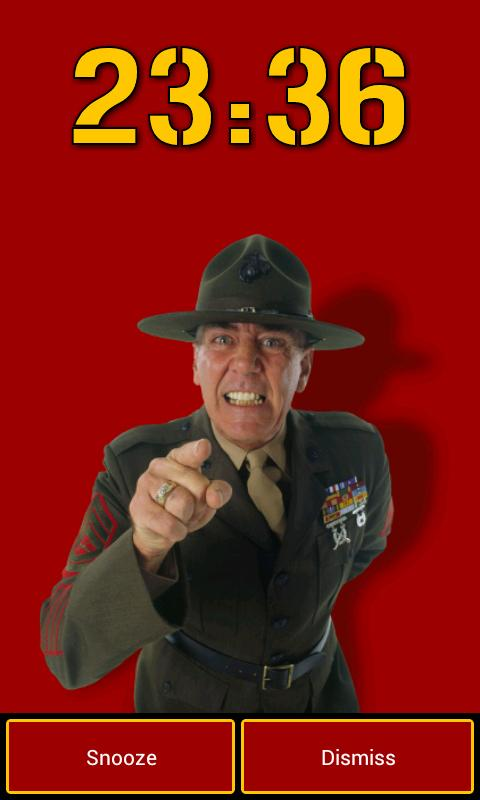 Gunny Ermey's Alarm Clock - screenshot
