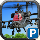 Land a Real Helicopter Gunship