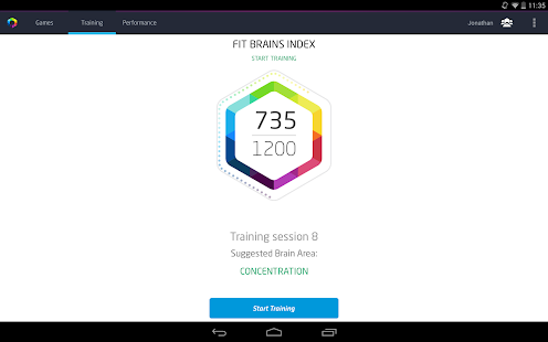 Fit Brains Trainer - screenshot thumbnail