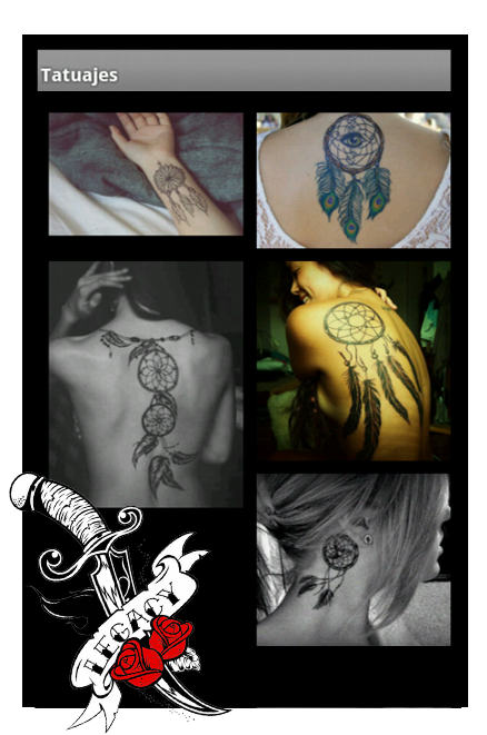 TattooMe (Tattoo gallery) - screenshot