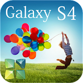 GalaxyS4 Next Launcher Theme
