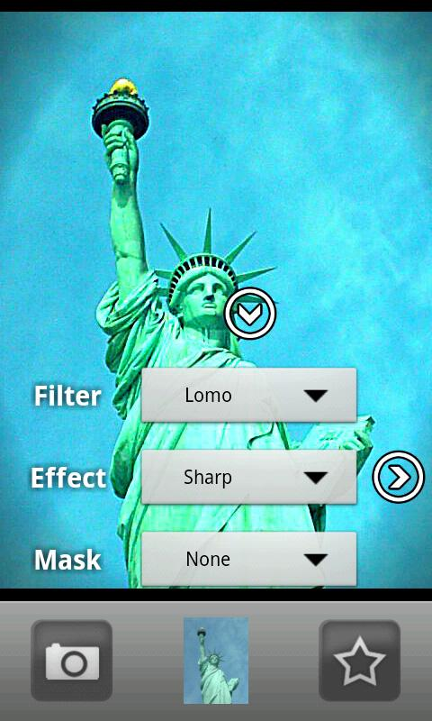 Camera illusion Pro- screenshot