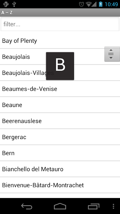Wine Profiles- screenshot