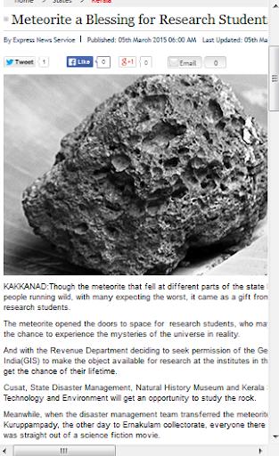 Meteorite News