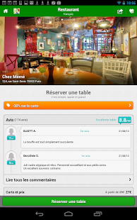 TheFork - Restaurants - screenshot thumbnail