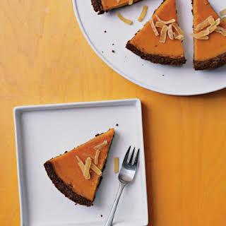 Gingered Butternut Squash Pie.