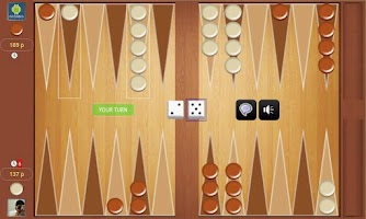 Screenshot of Backgammon Online Tournament