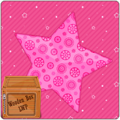 Pink Love Sparkle Star LWP
