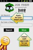 Screenshot of Job Search App+ (FREE)