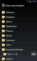 Screenshot of Smart Voice Recorder