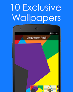 Cinque Icon Pack- screenshot thumbnail
