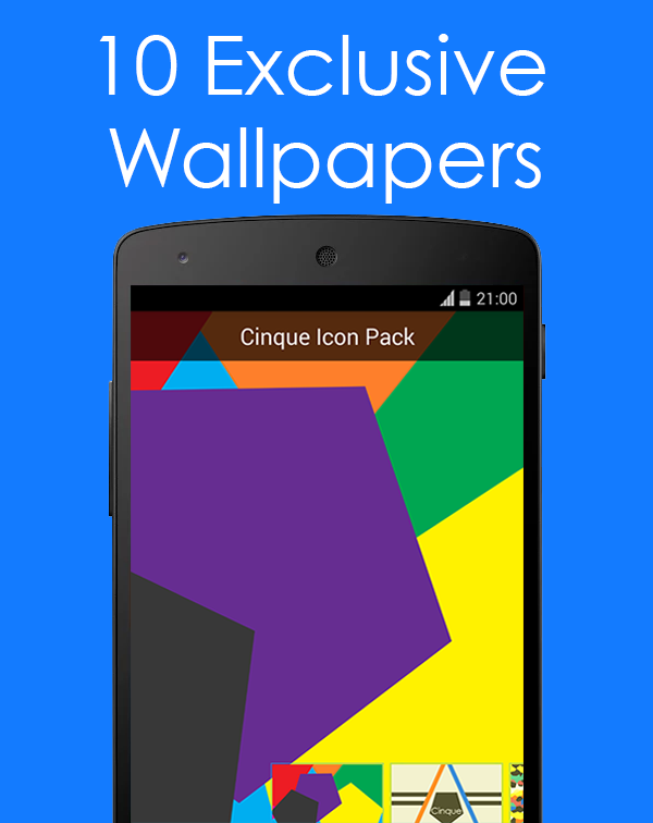 Cinque Icon Pack- screenshot