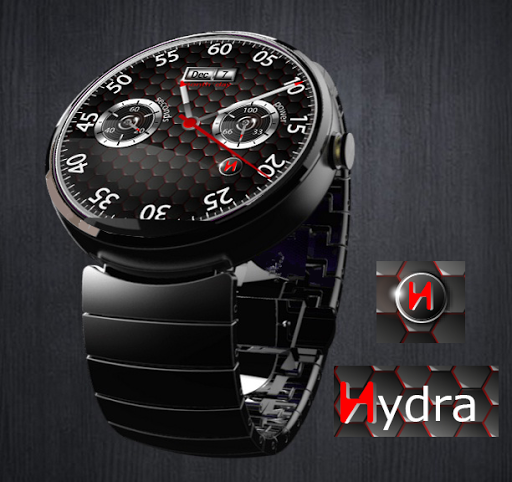 Hydra Watch Face for Wear