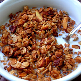 Homemade Nutty Vanilla Granola Recipe