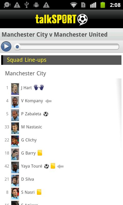 talkSPORT Premier League Live - screenshot