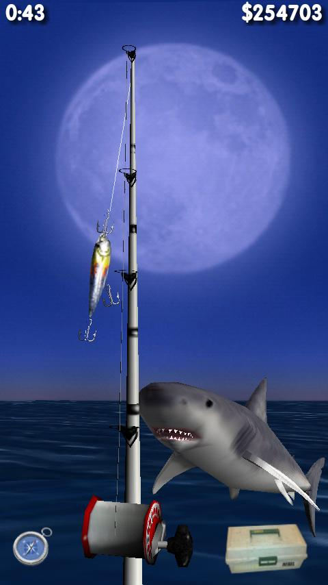 Big Night Fishing 3D Lite - screenshot