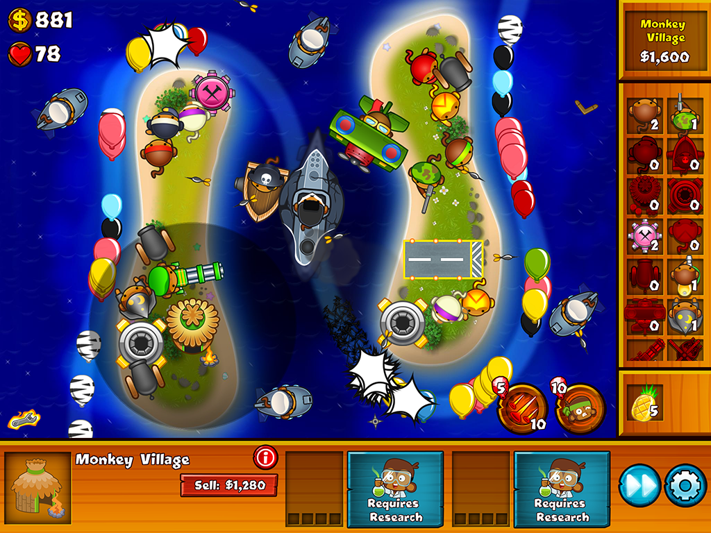 play bloons monkey city unblocked