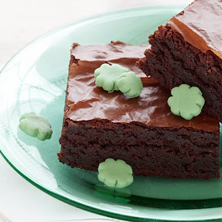 Clover Patch Brownies.