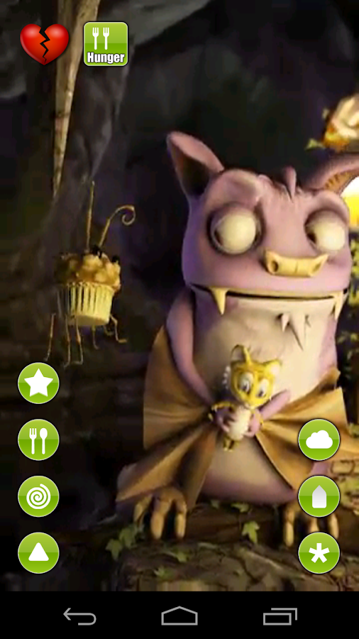 Talking Draco the Bat - screenshot
