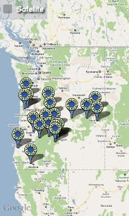 Moto mApps Oregon FREE - screenshot thumbnail