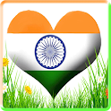 Indian Flags  Live wallpaper icon