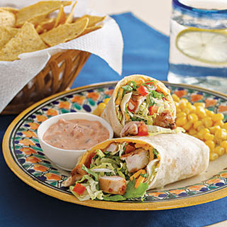 Mexican Chicken Wrap.
