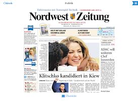 Screenshot of NWZ-ePaper