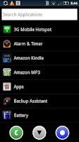 Screenshot of SmartLauncher HD
