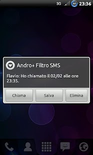 Andro+ Filtro SMS - screenshot thumbnail