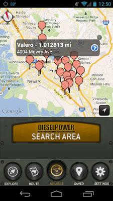 Diesel Power Fuel Finder - screenshot