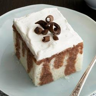 Chocolate Tres Leches Cake.